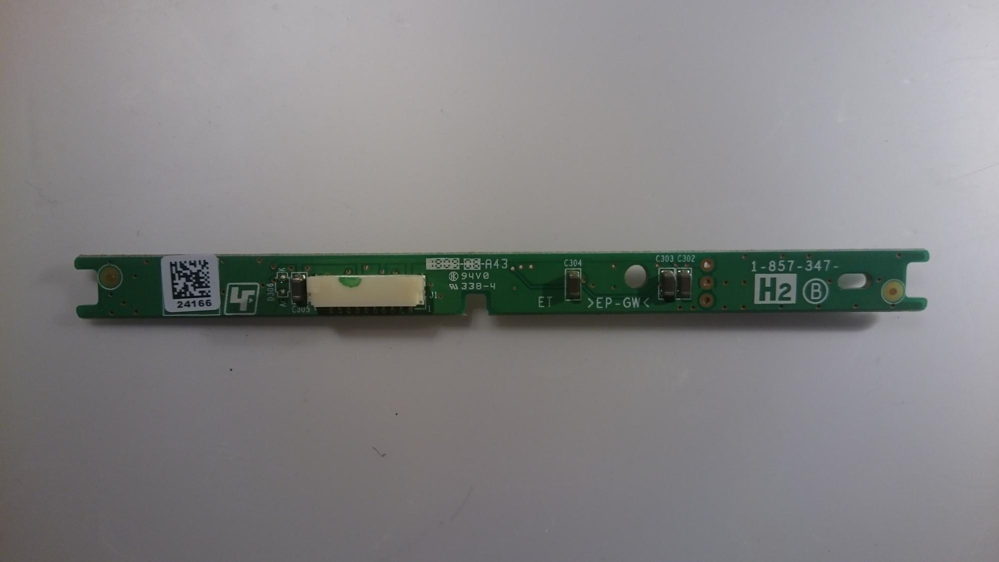 1 857 347 B Ir Remote Control Sensor For Sony Kdl 26s5500 Checking