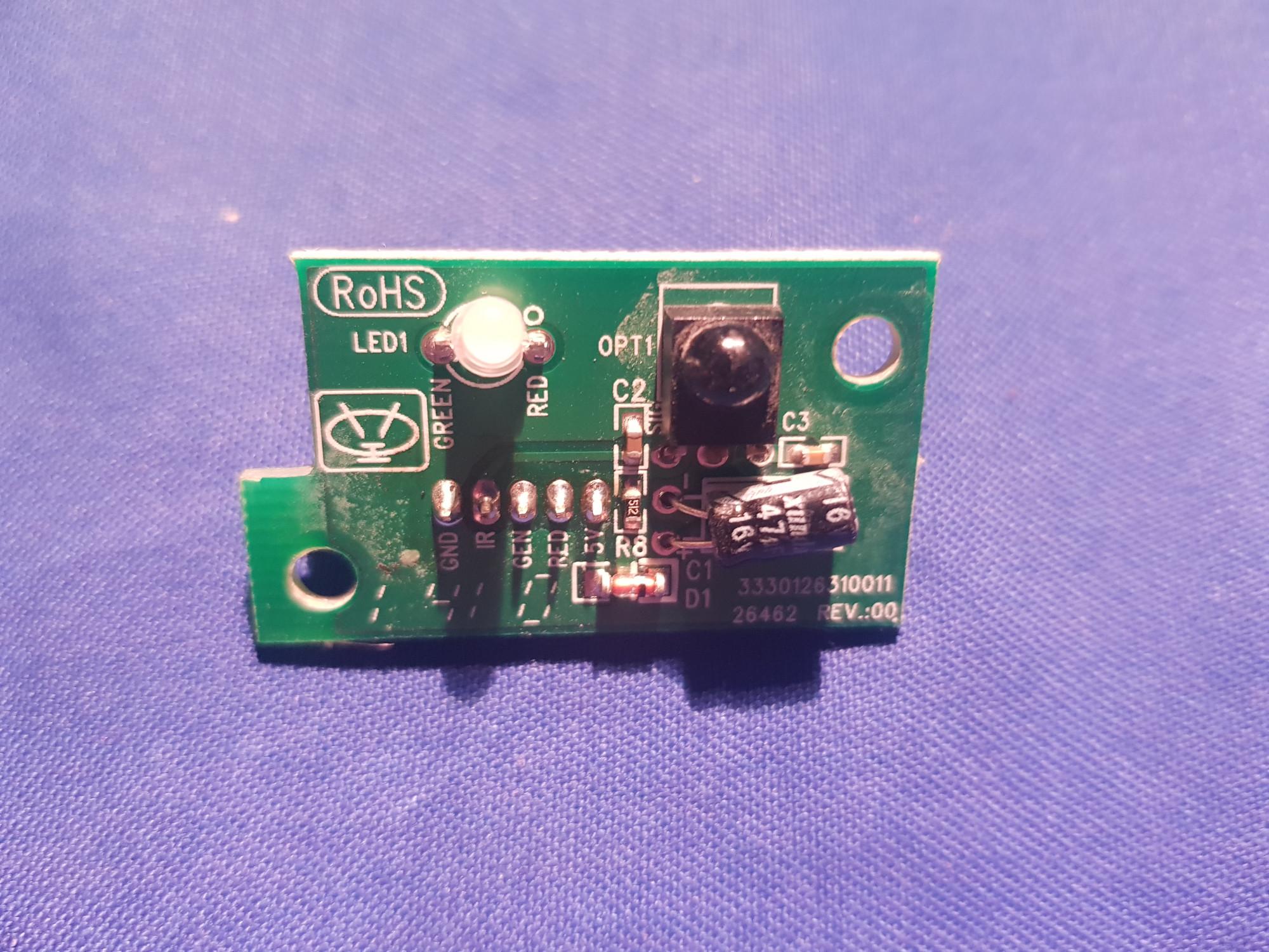 3330126310011 Rev00 Ir Remote Control Sensor For Baird Jo32baird Checking