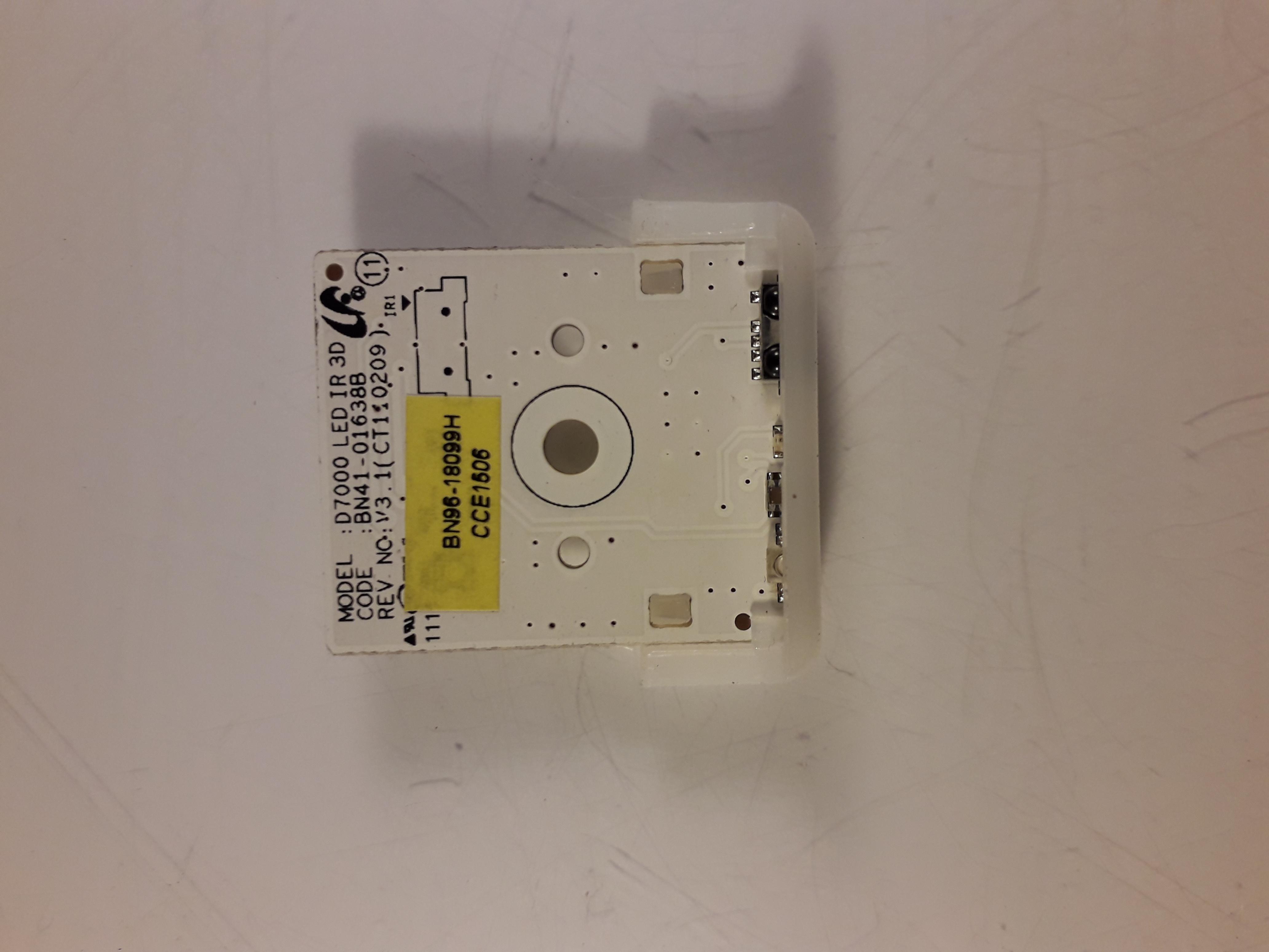 Bn96 18099h Ir Remote Control Sensor For Samsung Ue46d7000luxxu Checking Bn41 01638b