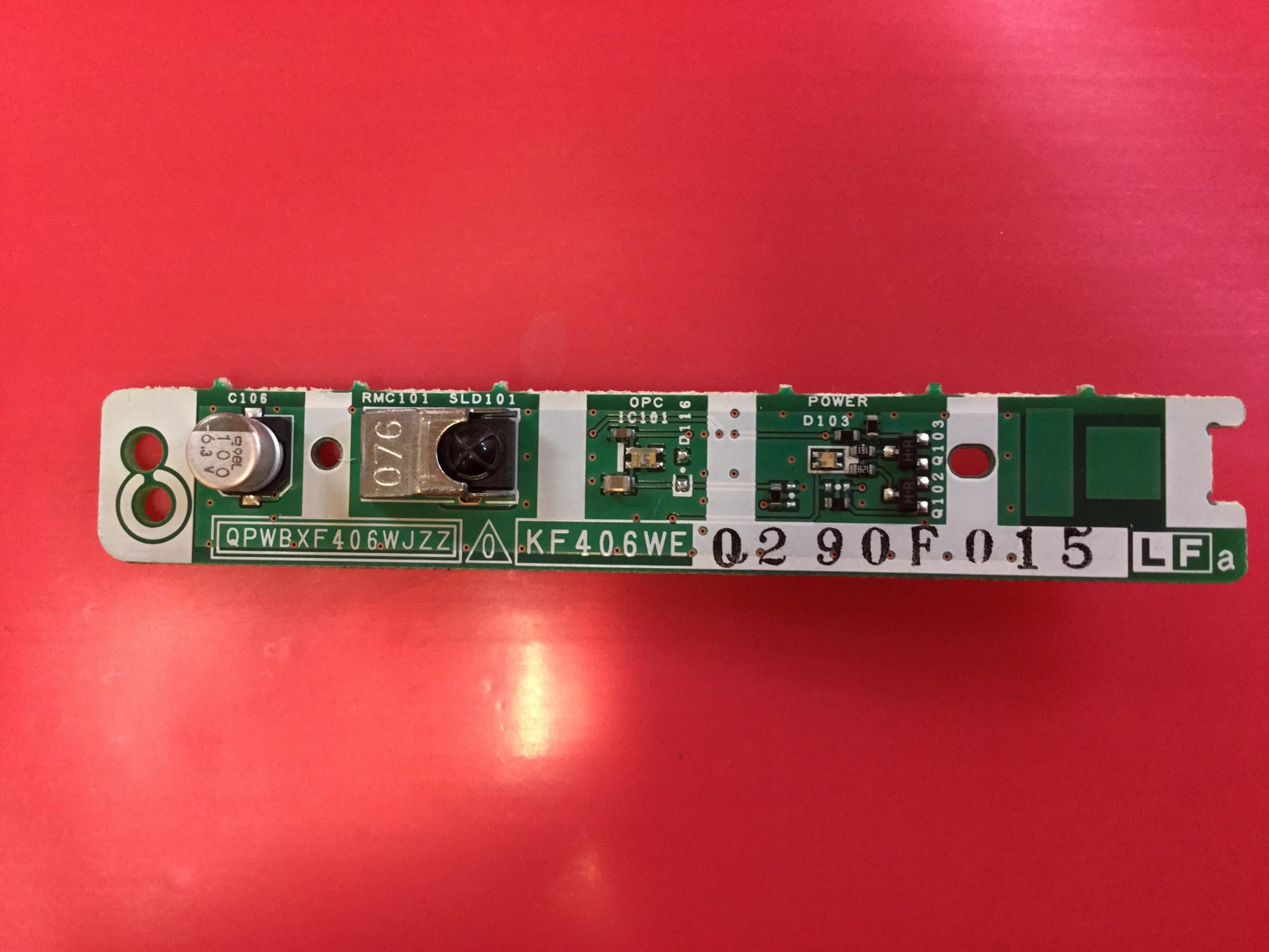 Qpwbxf406wjzz Ir Remote Control Sensor For Sharp Lc 32a37m Circuit